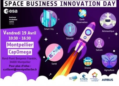 Evénement Space Business Innovation Day – 19 avril au BIC