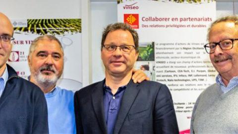 Les voeux Dominique Tourneix, Président de VINSEO