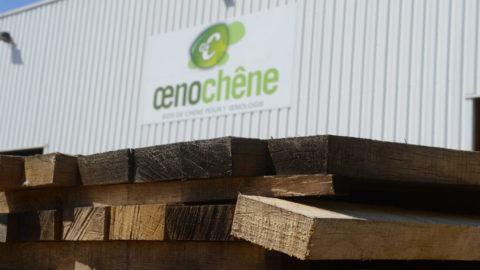 Les architectes du vin d'Oenochêne font feu de tout bois