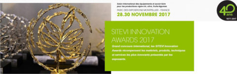 SITEVI Innovation Awards 2017