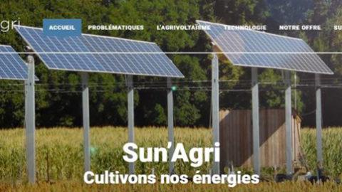 Un site web pour Sun'Agri