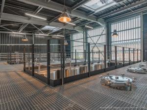 Edéis intervient sur des constructions et des restructurations de caves de vinification ou de chai de stockage