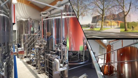 Edéis assure la maîtrise d'œuvre process et bâtiment de projets dans le secteur des vins et spiritueux